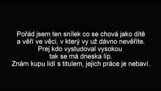 Johny Machette-Snílek (Lyrics)