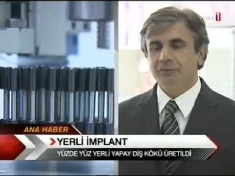 YERLİ İMPLANT ÜRETİLDİ