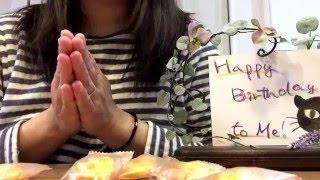 Happy Birthday !  かあたん、歳を重ねました(^。^)