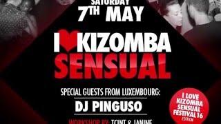 Kizomba Sensual Shout Out by DJ Barata the 7th of May 2016