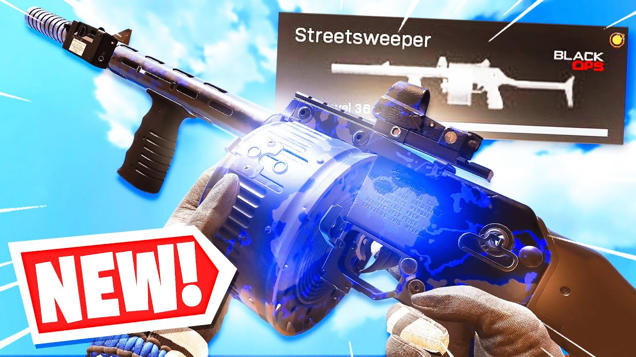 Stontd - the BEST Gun in Cold WARZONE.. (NEW STREETSWEEPER SHOTGUN Warzone)