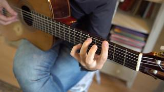Salvador Sobral - Amar Pelos Dois (Fingerstyle Guitar)