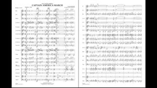 Captain America March by Alan Silvestri/arr. Paul Murtha