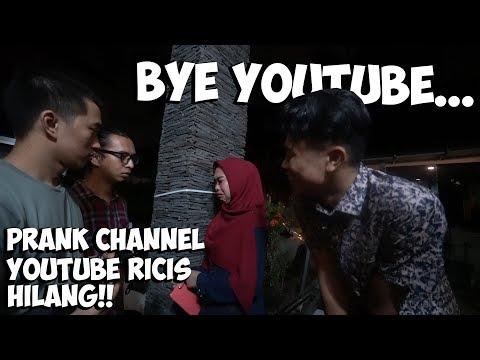 Download Video Prank Channel Youtube Ricis Dibanned! Bye Gak Ngeyoutube Lagi😭