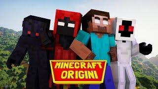 Minecraft Origini Trailer - Herobrine, Null, Entity 303, Error 404 TUTTI UNITI!