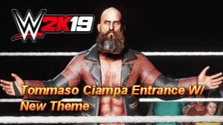 WWE 2K19 - Tommaso Ciampa Entrance with New Theme (PS4)