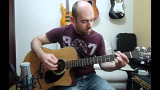 Wish you were here (Pink Floyd) - Acoustic Guitar Solo Cover (Violão Fingertsyle)