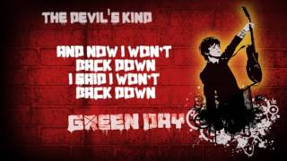 Green Day - The Devil's Kind (lyrics)