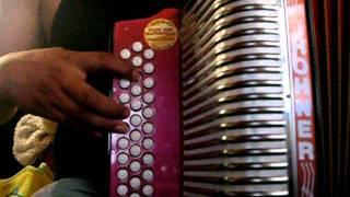 aprende circulo de acordes tono de SOL , acordeon de botones SOL hohner corona slow