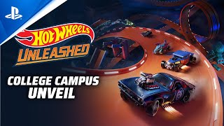 Hot Wheels Unleashed Takes You to School with College Campus Tracks in Latest Trailer