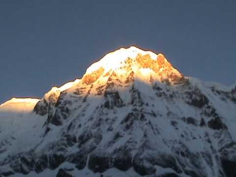 Golden Top Snow Mountain, ABC, Nepal