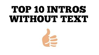 Top 10 3d Intro Template Without text|| No Copyright||Free Download||