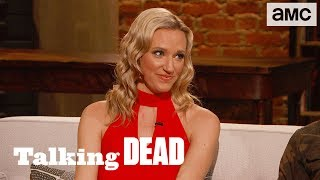 'A Fight Between Negan and Rick' Ashley Weidman's Season 8 Finale Predictions  | Talking Dead