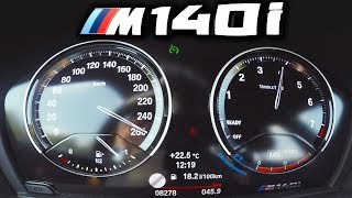 0-250km/h | BMW M140i | Acceleration and Top speed TEST ✔