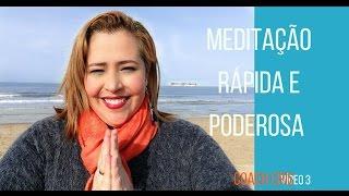 Meditação Rápida e Poderosa - Afirmações Para Empoderamento Pessoal | Cristyna Vilela Coach