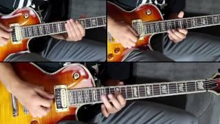 NARUTO OST guitar cover - Madara Badass Themes + TAB