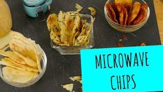 7-min Microwave Potato Chips! - La Cooquette
