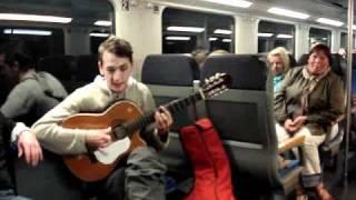 Musica en vivo en el tren ( Live Musik auf dem Zug)
