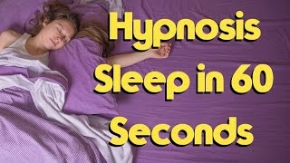 Sleep Hypnosis - Hypnotize yourself to Sleep in 60 seconds.