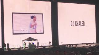 DJ Khaled / Ball Greezy - Nice & Slow (Live) - OTR II Tour - 8/31/18 - Miami - Hard Rock Stadium