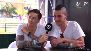 Blasterjaxx Interview - UMF 2016 Miami