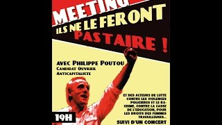 Meeting avec Philippe Poutou à l'université Paris 8 !