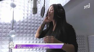 Aurélie Preston présente sa reprise du générique des Anges 8