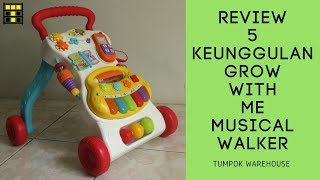 5 KEUNGGULAN GROW WITH ME MUSICAL WALKER [Review WinFun]
