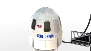 Blue Origin: New Shepard Capsule Escape Animation