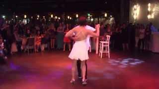 """ריקוד החתונה רועי ואלינור Wedding Dance """"Hungry Eyes"""" Dirty Dancing"""