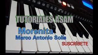 Tutorial MORENITA Marco Antonio Solís (Tutoriales Asam) •Letra y Acordes en la descripción• 》