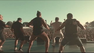 """HAKA"" Spawnbreezie pays homage to New Zealand (One Love Festival 2017)"