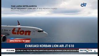 Detik-detik Jatuhnya Pesawat Lion Air JT610 di Perairan Tanjung Karawang