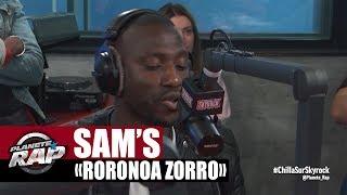 """Sam's """"Roronoa Zorro"""" en live #PlanèteRap"""