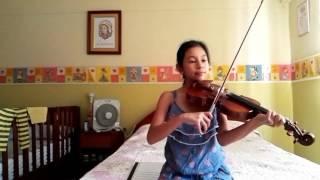 Color esperanza violín