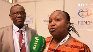 Déclaration de Sidibe Fatoumata Cisse, présidente de l'Ordre des experts comptables du Mali