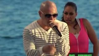 Ludacris featuring Pitbull - How Low Remix Live MTV Spring Break 2010