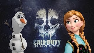 Call of Duty Ghosts - Frozen - Parody - Do you wanna build a snowman