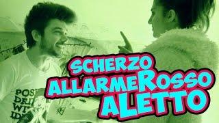 SCHERZO - ALLARME ROSSO A LETTO!
