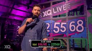 Justin Timberlake no XQ Super School Live 2017 (Legendado)