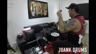 """EL FULANO"" LOS  K' MORALES - DRUMS COVER - JUANK DRUMS"