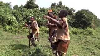 Twa Traditional Dance Before Hunting