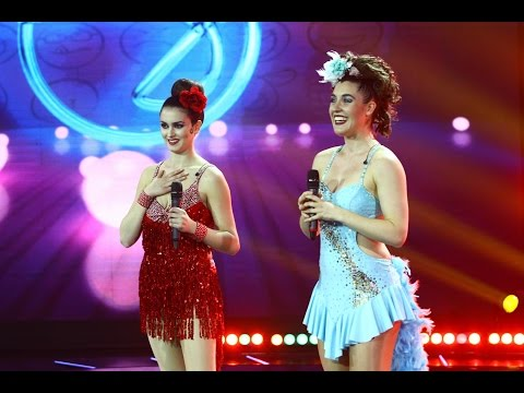 "Maria & Carmen - ""Les Bunheads"", cel mai ""nebun"" dans de salsa! iUmor"