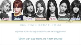 AOA - Heart Attack  (심쿵해) (Color Coded Han|Rom|Eng Lyrics)