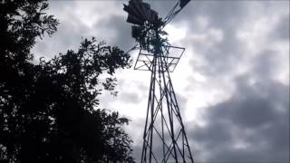 Windmill FREE stock footage with wind sound