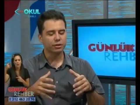 TRT Okul'da Günlük Rehber Programının Konuğuyduk