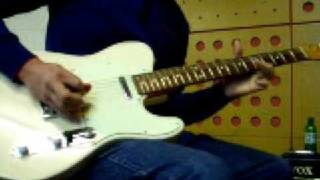 '60s-Soul sounds on Fender Tele (Japan - 62RI)