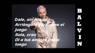 "Pitbull & J Balvin Ft. Camila Cabello - Letra ""Hey Ma"" (spanish Version)"