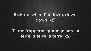 Kick Me - Sleeping With Sirens Lyrics English/Français