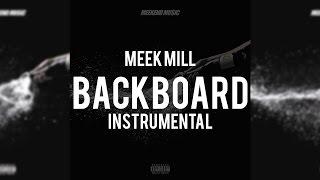 Meek Mill ft. Young Thug - Backboard (Instrumental)